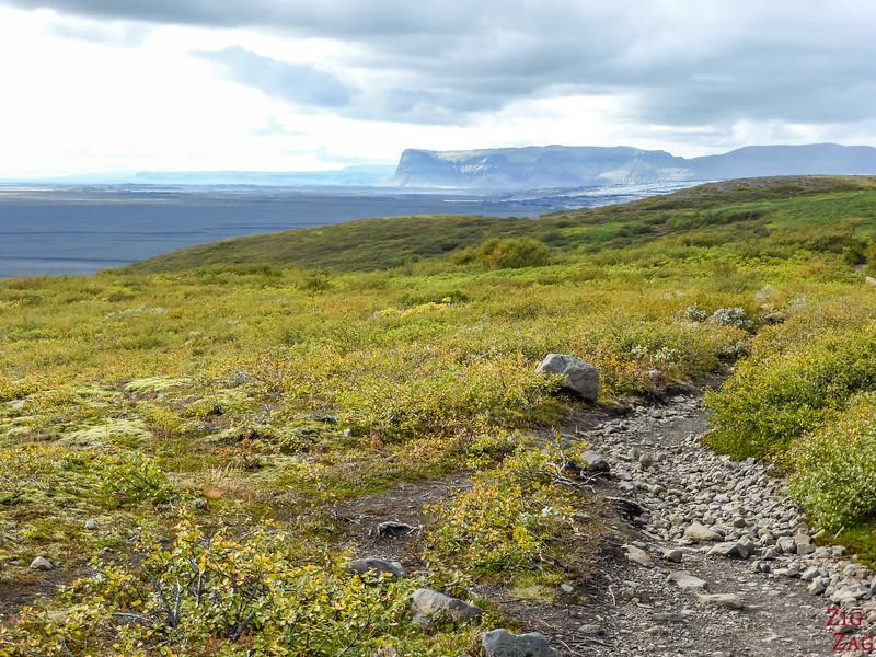 Randonnée à Skaftafell