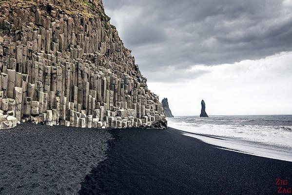 Sud Islande lieux d intérêt -  Plage Jökulsárlón Islande - Icebergs sable noir