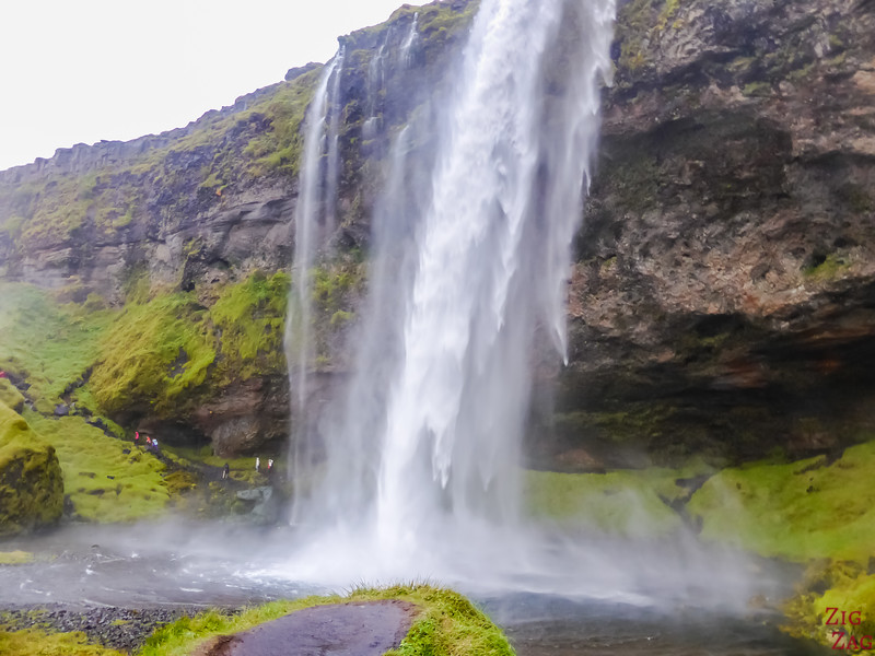 the Seljalandsfoss waterfall Iceland x