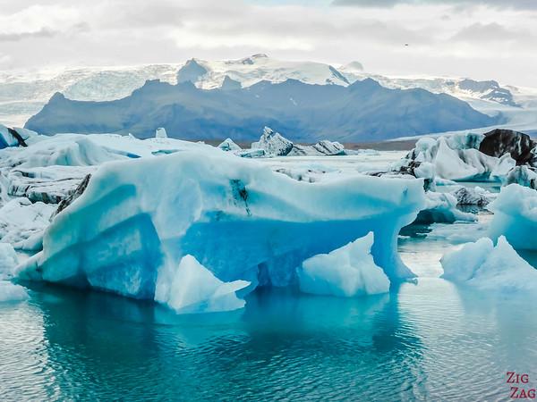 Sud Islande lieux d intérêt - Lagon de Jokulsarlon Islande - Jokulsarlon Lagon Glaciaire icebergs 2
