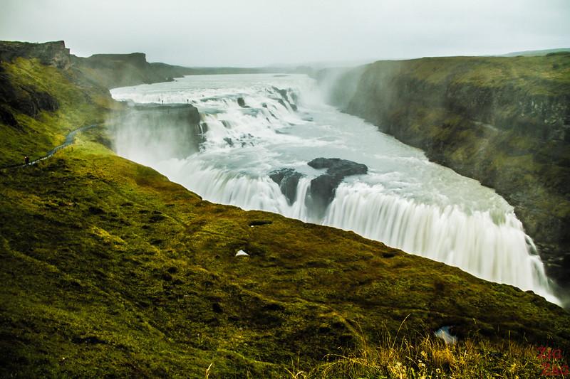 Best landscape Iceland: Gullfoss