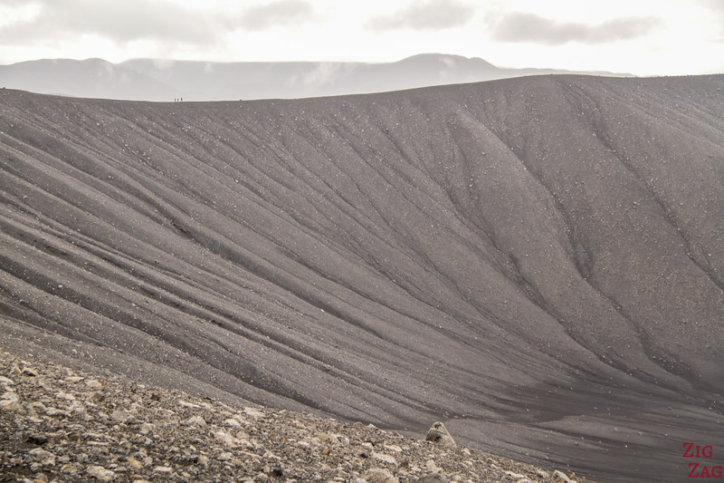 Taille cratère Hverfjall Islande