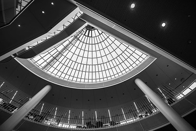Perlan Museum inside architecture