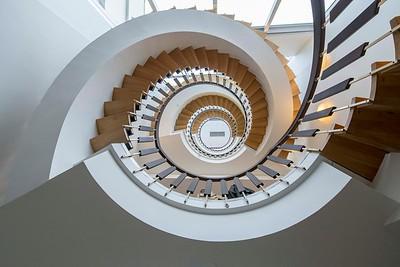 Natura Hotel staircase