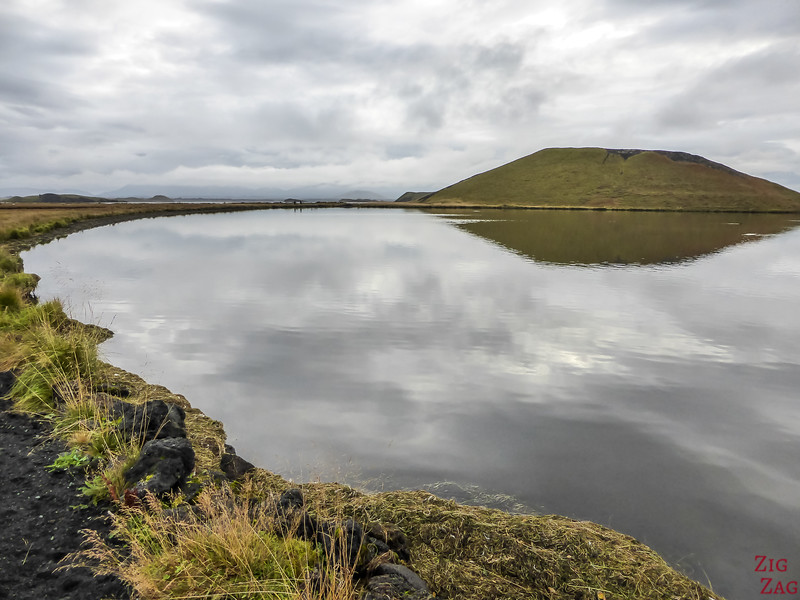 Lac Myvatn Pseudo-cratères Skutustadir Islande - Skutustagigar 8