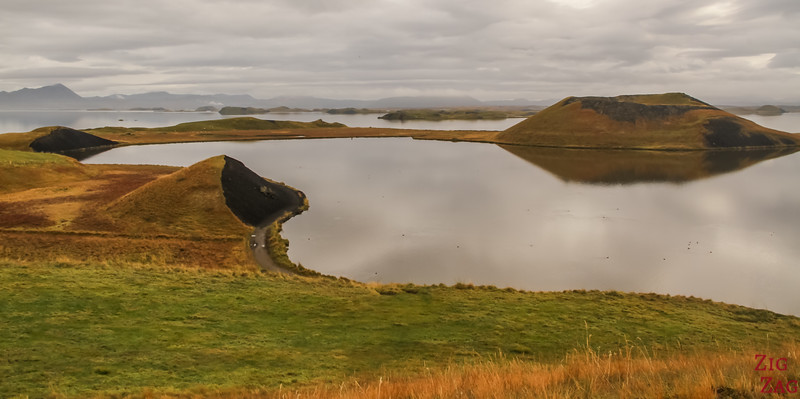 Lac Myvatn Pseudo-cratères Skutustadir Islande - Skutustagigar 3