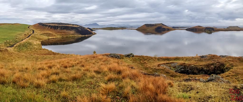 Pseudo-cratères Skutustadir Islande - Skutustagigar 2