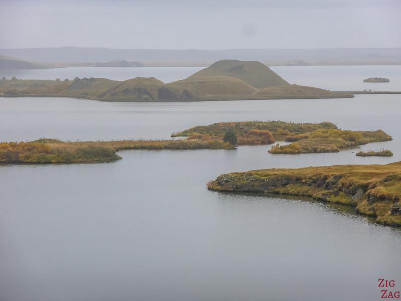 Lac Myvatn Pseudo-cratères Skutustadir Islande - Skutustagigar 5