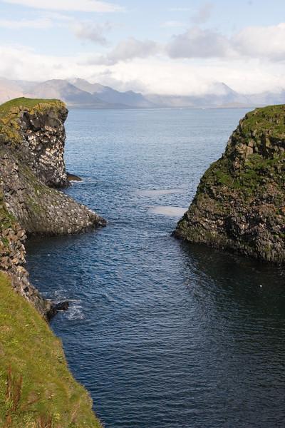 Shoreline along the town of Arnarstapi; Snaefellsnes Peninsular