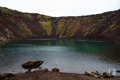 Kerið Crater Lake, Iceland