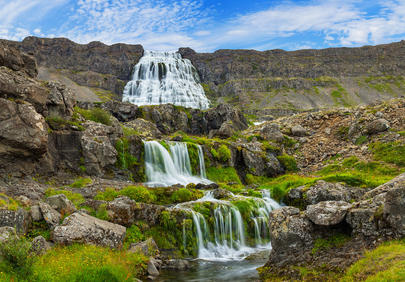 Where to go on Iceland road trip - WEST FJORDS Dynjandi