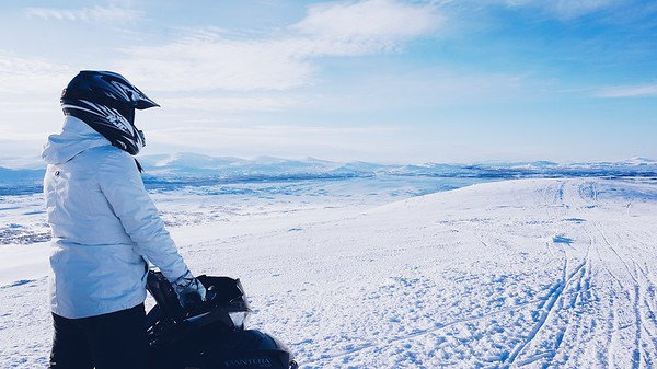North iceland activity - snowmobile