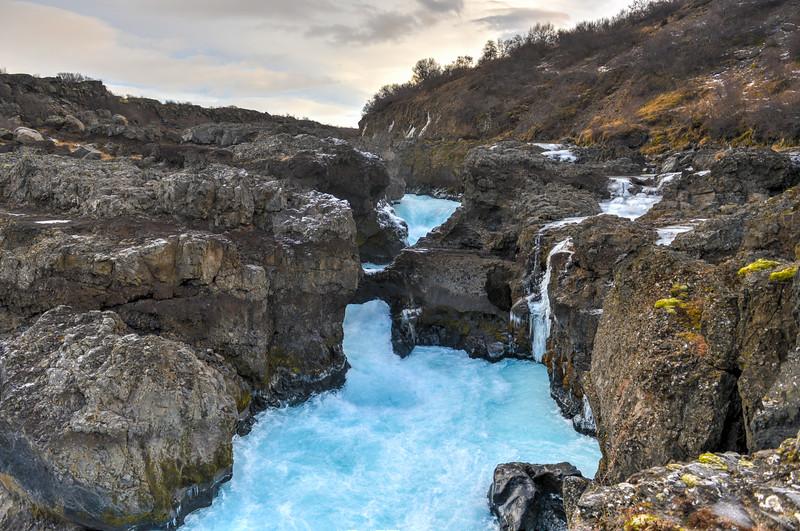 Barnafoss Silver Circle Iceland