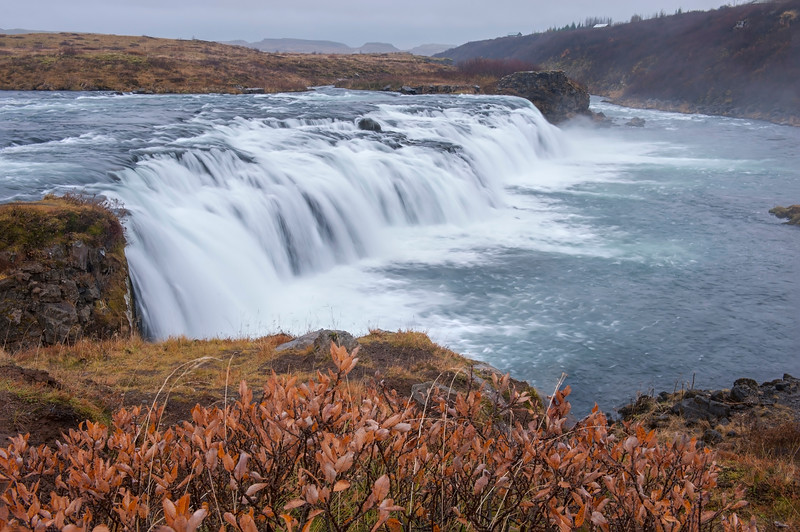 Faxifoss waterfall iceland