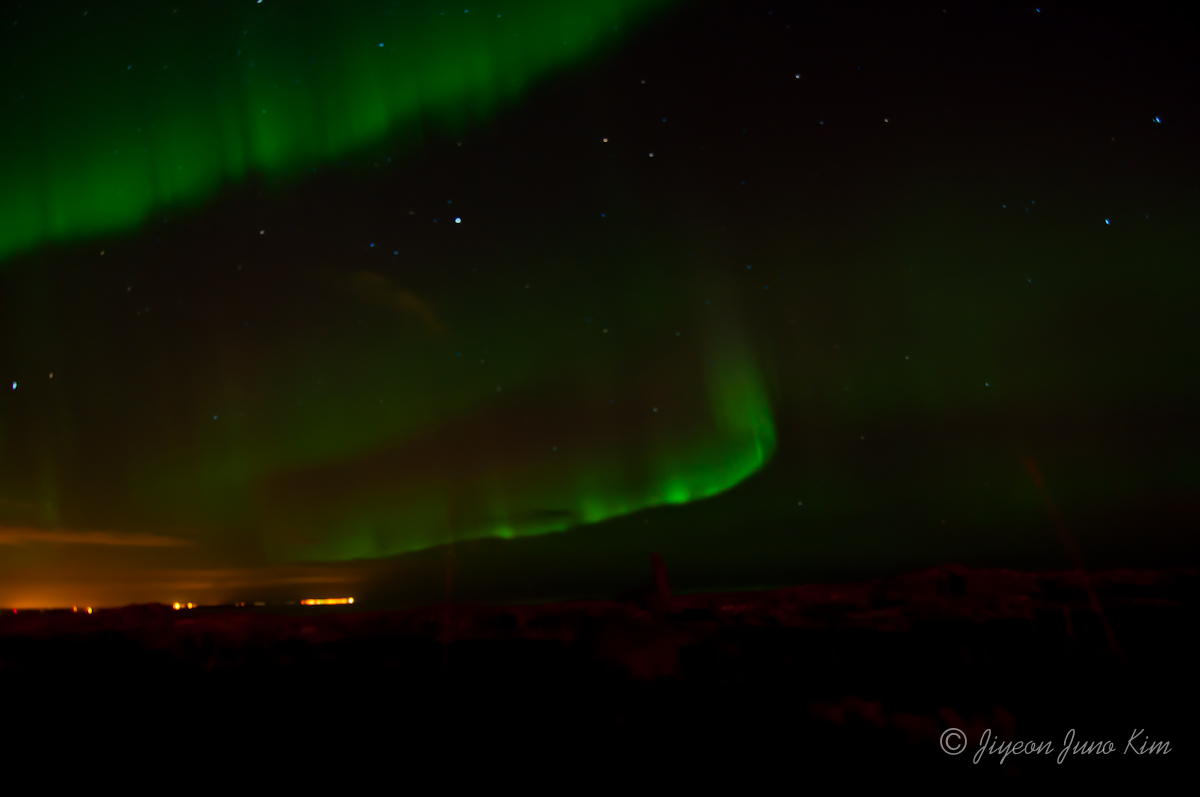Aurora Borealis in Iceland (Northern lights)