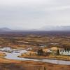 Landscape by Thingvellir