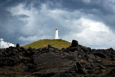 Lighthouse- Grindavik, Iceland