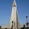 Hallgrímskirkja (Hallgrim's Church) in Reykjavik. You can see it for miles.