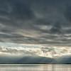 Clouds over Reykjavik Sound