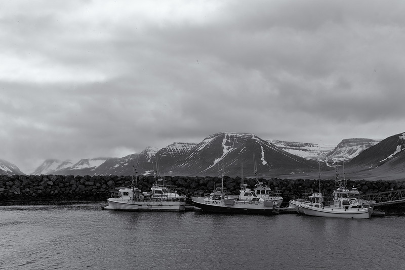 Boats on the Fjord