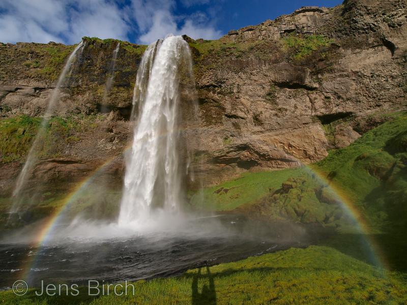 Seljalandsfoss.<br /> 7 mm focal length