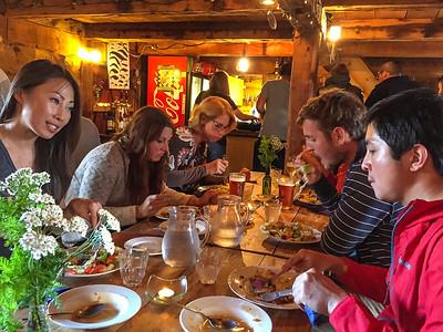 Dinner- Isafjordur, Iceland