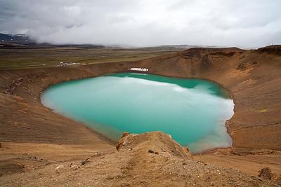 Viti crater in Krafla, North Iceland