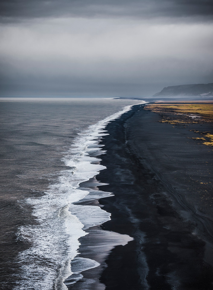 the long view   dyrhólaey, iceland
