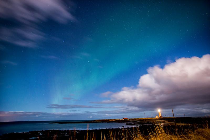 Aurora in Reykjavik