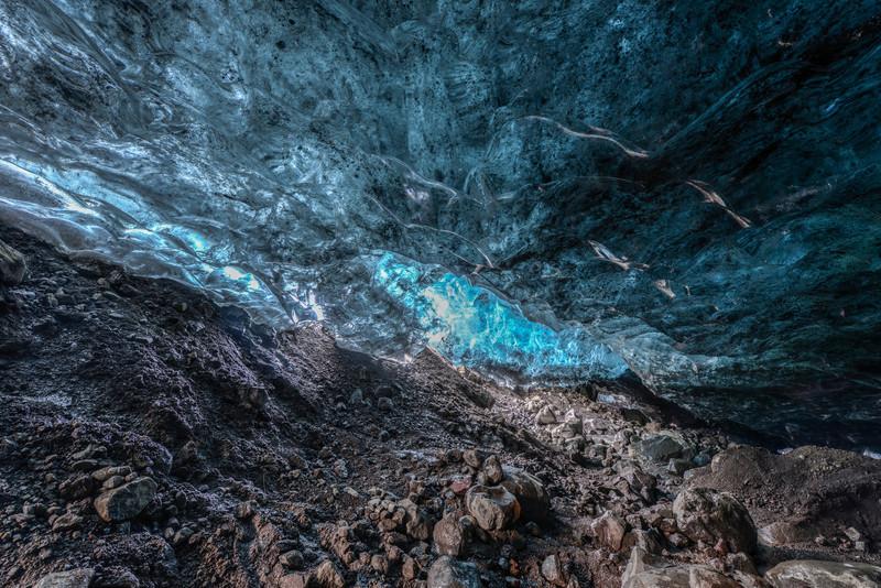 Ice Cave, Vatnajokull, South Iceland