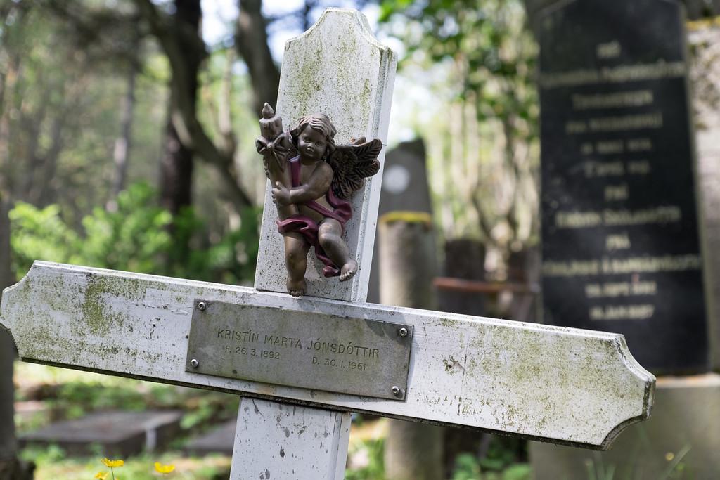 Reykjavik cemetery