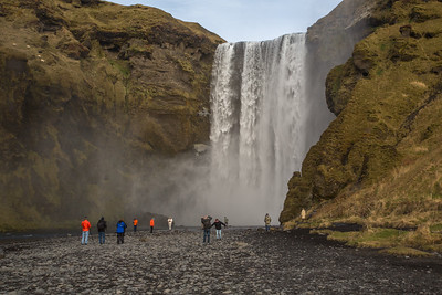 Skógafoss Falls, southern Iceland