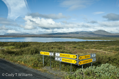 Traveling across one of the most beautiful and unusual terains in hte word, Iceland. September, 2009 © Cody T Williams.