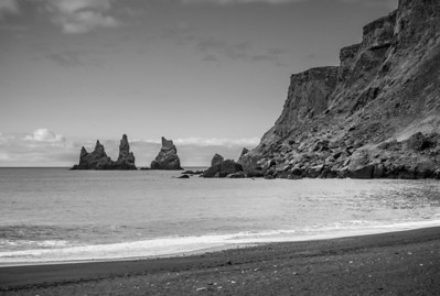 The Reynisdrangar seastacks at Vik
