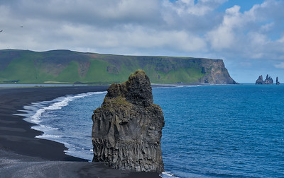 Reynisfjara and the Reynisdrangar