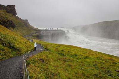 Gullfoss waterfall, South-West Iceland