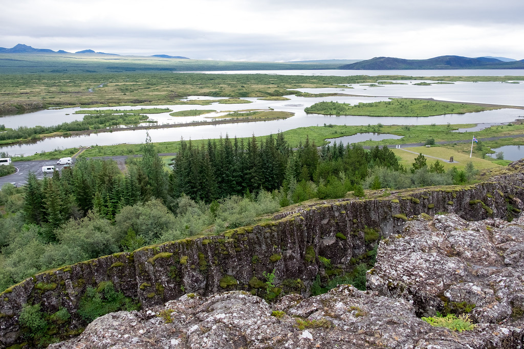 Dingvellir tectonic movement