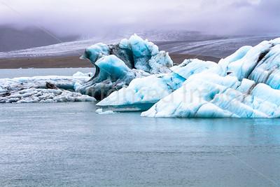 Jokulsarlon-glacial lagoon