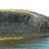 One of the many islands in Breidafjordur - note Basalt columns