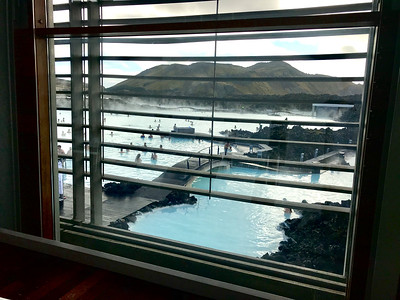 Blue Lagoon from the lounge