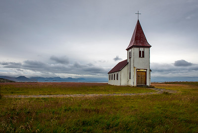 Evening Church- Iceland