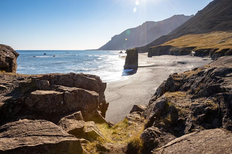 Fauskasandur Black Sand Beach