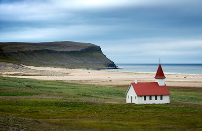 Beach Church- Hojutor, Iceland