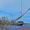 Reykjavik Suncraft steel boat sculpture
