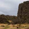 Thingvellir rocks