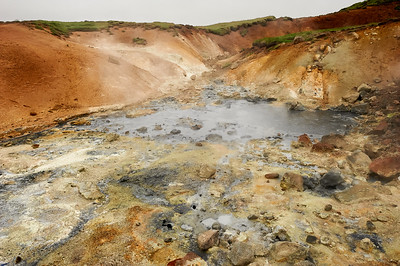 Geothermal pools
