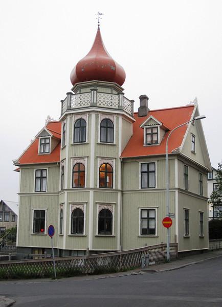 Just a house in Reykjavík.