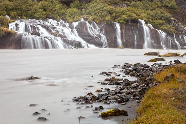 Hraunfossar waterfall, West Iceland