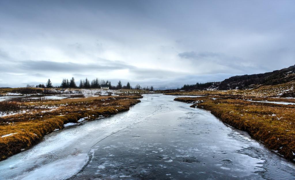 Oxara River, Iceland