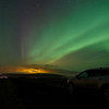 Northern lights near Selfoss
